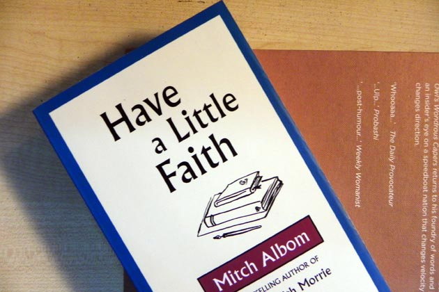 10.Have a Little Faith by Mitch Albom