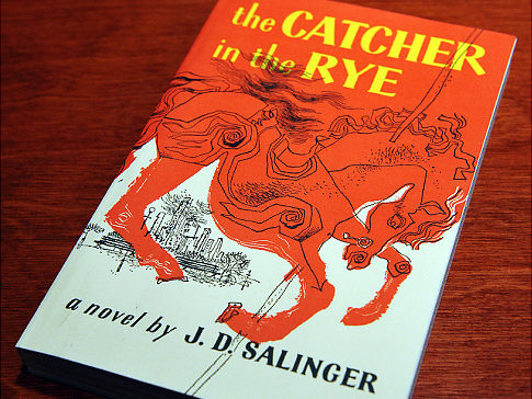 "A January 28, 2010 photo shows a copies of ""The Catcher in the Rye"" by author J.D. Salinger at a bookstore in Washington, DC. J.D. Salinger, the reclusive author of ""The Catcher in the Rye,"" has died at 91, his agent said January 28, raising tantalizing questions over whether the legendary writer might have left behind a hoard of unpublished works. AFP PHOTO/Mandel NGAN (Photo credit should read MANDEL NGAN/AFP/Getty Images) Original Filename: Was2837936.jpg"