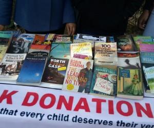 Book Donation at DRC