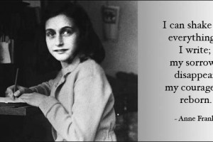 Anne Frank and Heart Break